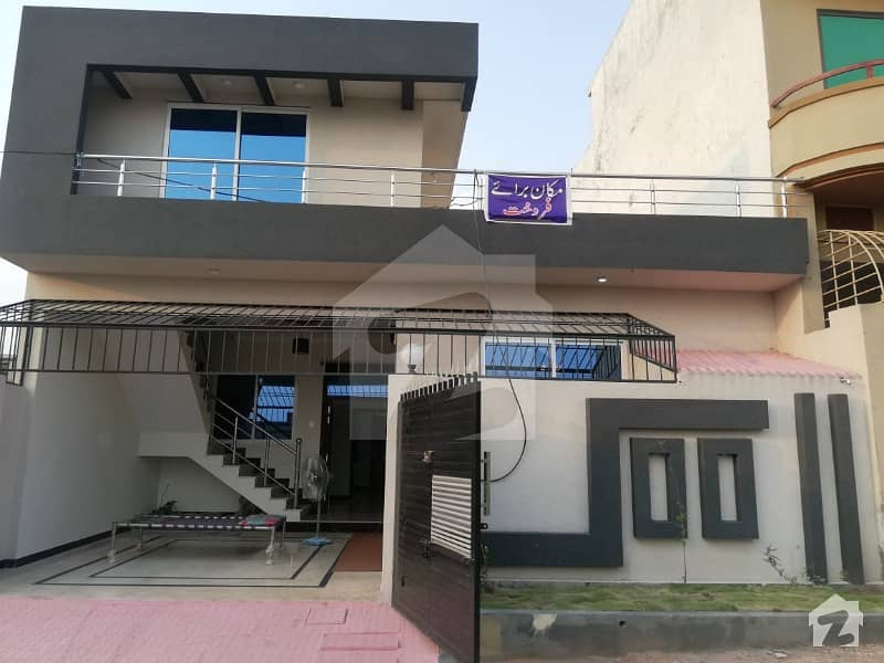 Newly Constructed 5 Marla Single Storey House For Sale In Airport Housing Society