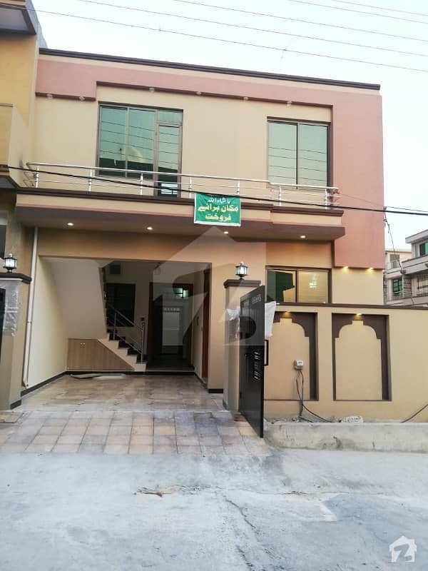 Brand New 5 Marla One And Half Storey House For Sale In Airport Housing Society