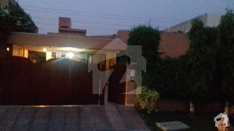 1 Kanal Single Storey Slightly Used Bungalow Available For Rent At Dha Phase 4