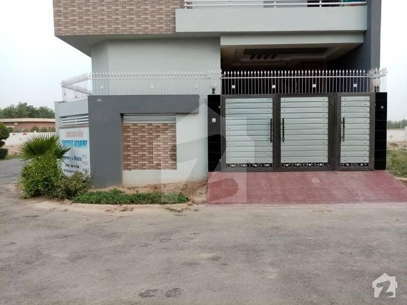 5 Marla Double Storey Beautiful Corner House For Sale In Ali Orchard Okara