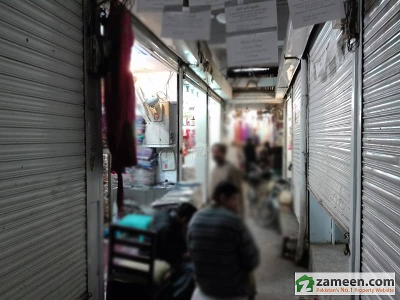 4 Shops Available For Sale In Sadiq Colth Market