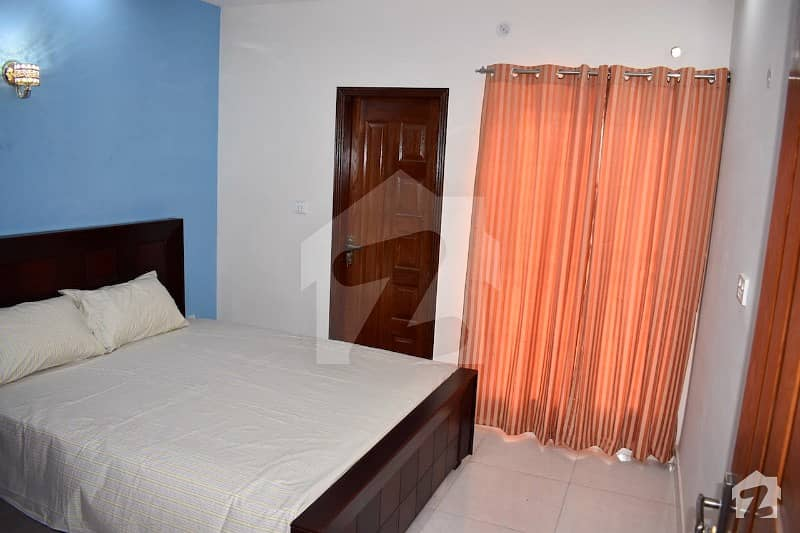 Full Furnished 5 Marla Portion Is Available For Rent
