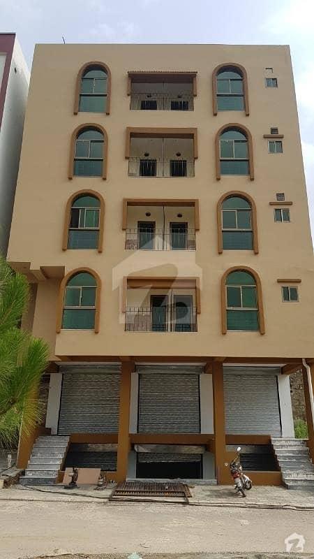 جناح گارڈنز فیز 1 جناح گارڈنز ایف ای سی ایچ ایس اسلام آباد میں 2 کمروں کا 3 مرلہ فلیٹ 40 لاکھ میں برائے فروخت۔