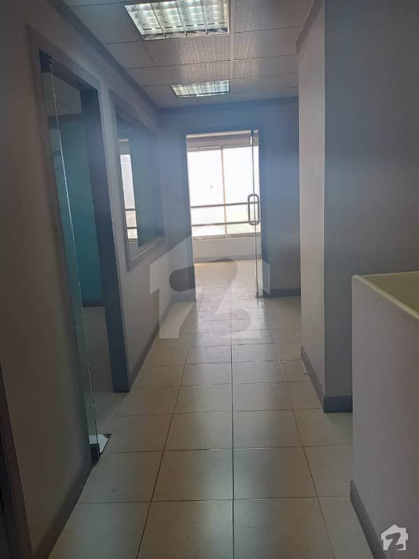 Semi Furnished 1985 Sq Ft Office Space Available For Rent At Horizon Tower Clifton