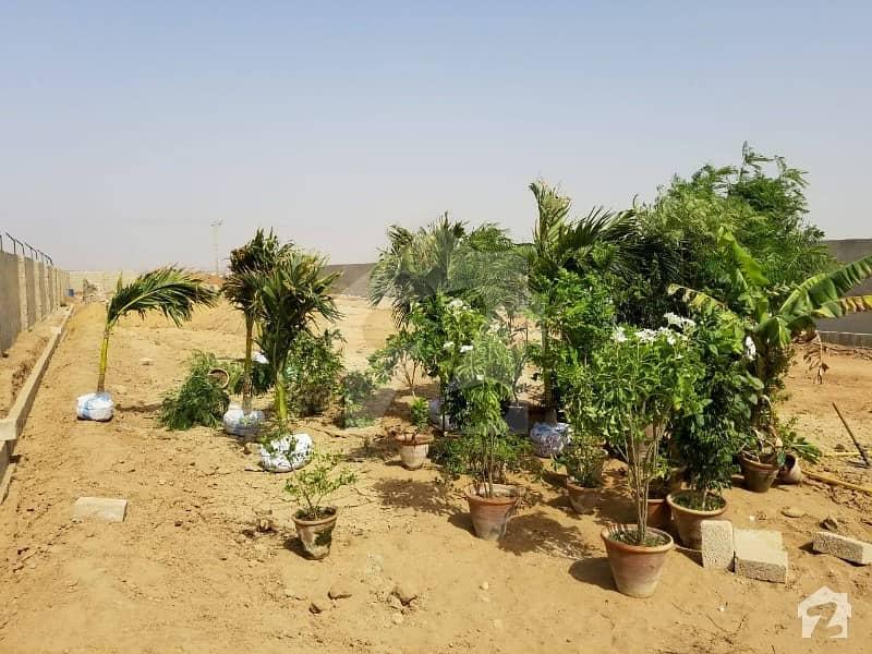 Commercial Farm Houses Land Plots on installments for Sale Super Highway Karachi