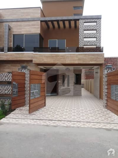10 Marla Brand New Very Beautiful House For Sale At Prime Location In Lahore Lake City