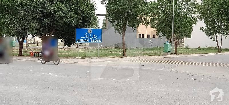 Jinnah Block Hot Location Plot For Sale On Very Reasonable Demand Bahria Town Lahore