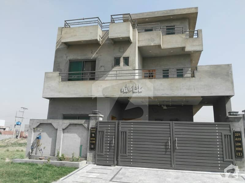 10 Marla New House Is Available For Sale