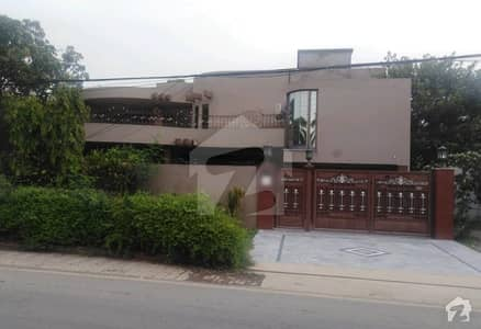 1 Kanal Outer Circle Double Storey Corner House Is Available For Sale