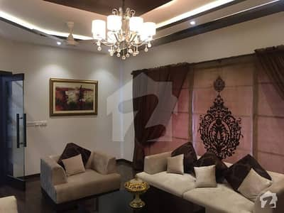 Fully Furnished 1 Kanal Brand New Luxury Place Bungalow Is Available For Sale