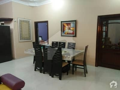 House 1st floor excellent condition full furnished, separate, with all home appliances vip location  north karachi 11B