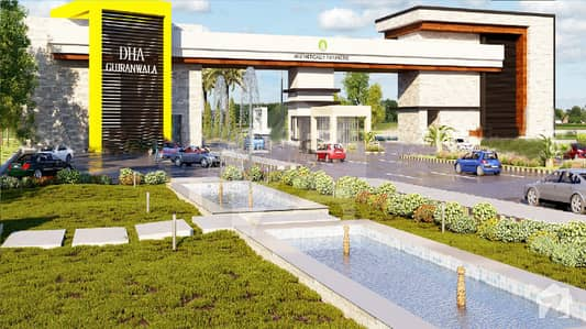 5 Marla Plot File For Sale In Dha Gujranwala