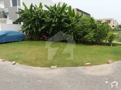 10 Marla Corner Plot For Sale In Dha Phase 8 R Block