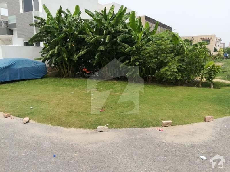 10 Marla Corner Plot For Sale In Dha Phase 8 R Block