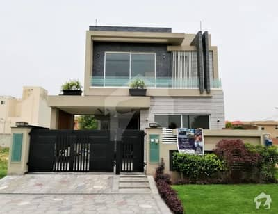 Leads Presenting 10 Marla Sleek Design Bungalow In Dha Lahore