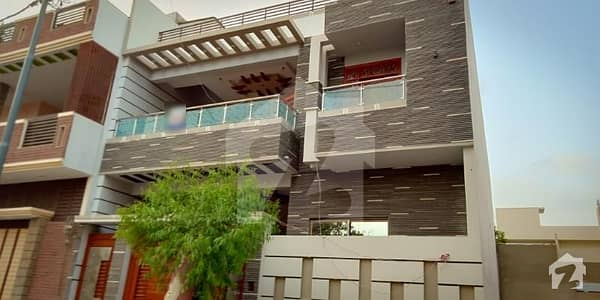 گلشنِ معمار گداپ ٹاؤن کراچی میں 6 کمروں کا 8 مرلہ مکان 2.3 کروڑ میں برائے فروخت۔