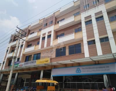 3 Marla 2nd Floor Flat For Rent In Qureshi Arched Plaza Khushab Road