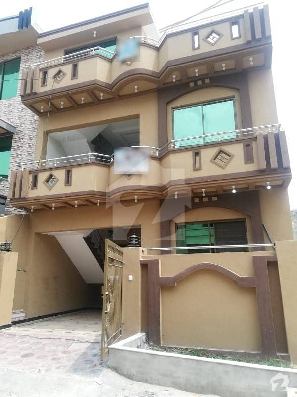 Brand New Luxury  5 Marla Double Storey House For Sale In Airport Housing Society  Rawalpindi