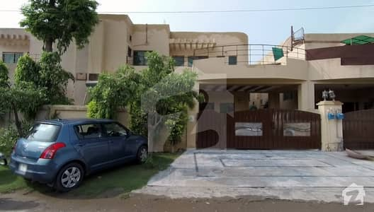 10 Marla 4 Bedroom With Basement Main Boulevard House For Sale In Askari 10 Lahore Cantt