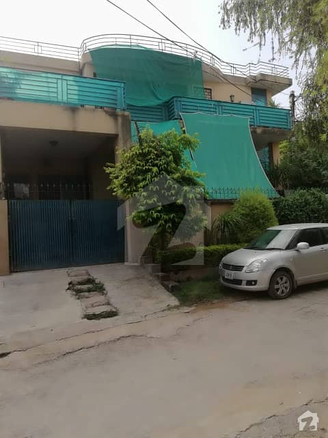 10 Marla Ground Portion For  Rent In Gulraiz Housing Scheme