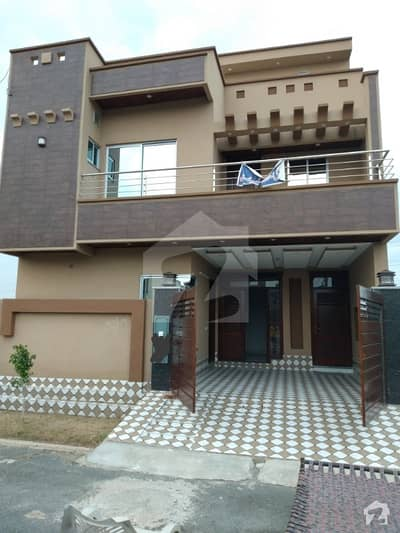 5 Marla Brand New Beautifully Design Solid House With 4 Bedroom For Sale
