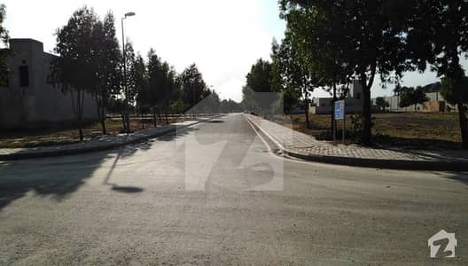 5 Marla Developed Plot For Sale In Jinnah Block  Bahria Town Lahore
