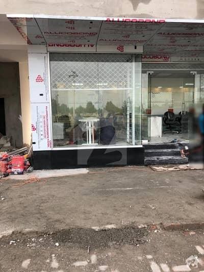 325 Sq Feet Ground Flour Rent Out Shop For Sale Bahria Town Orchard Main Raiwind Road