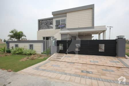 1 Kanal Brand New House For Sale In Revenue Society B Block Lahore