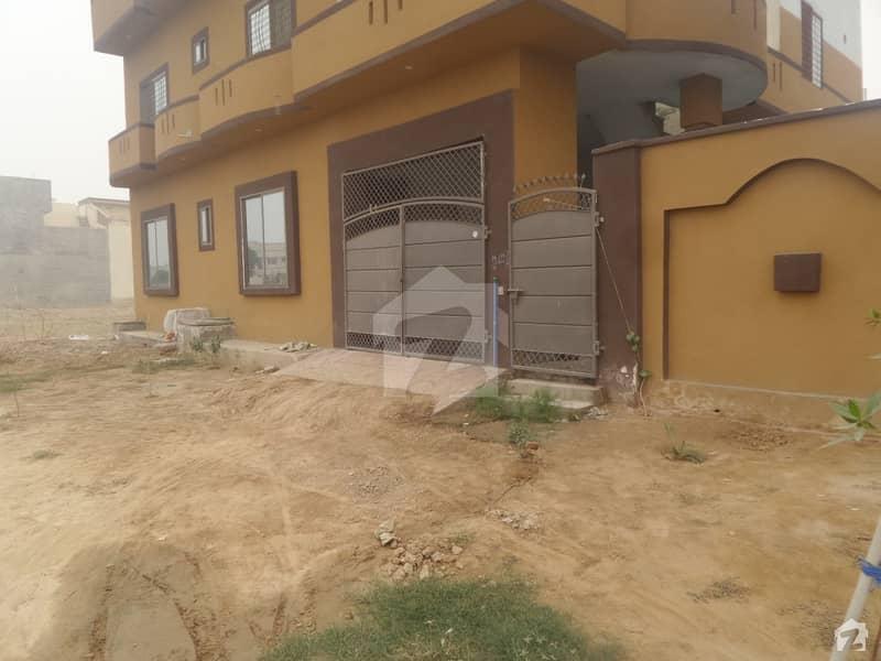 Double Storey Beautiful House For Sale At Hassan Block Okara