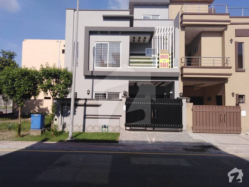 5 Marla Brand New Luxury House For Sale In C Block Of Dream Gardens Phase 1