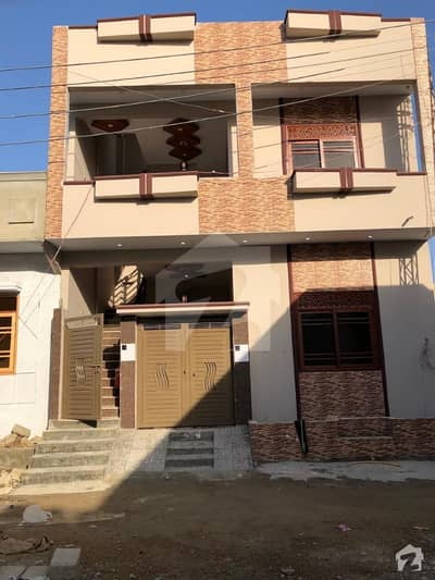 120 Sq Yards Brand New House  For Sale In Saadi Town Block 4