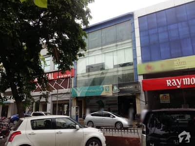 Back Of Main Road Facing Park 7 Marla 5 Floor Plaza For Sale