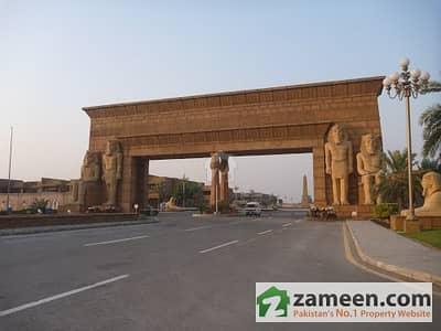 Ideal Location 1 Kanal Boulevard Plot Jasmine Block Bahria Town Lahore
