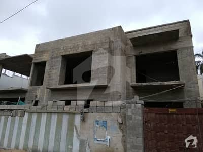 600 Sq Yards Main 100 Ft Road Ground Plus 1 Uncompleted House For Sale