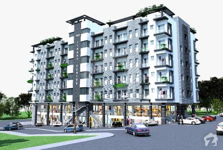 Brand New 480 Square Feet 1 Bed Apartment Is Available For Sale In Jinnah Center Jinnah Garden Islamabad