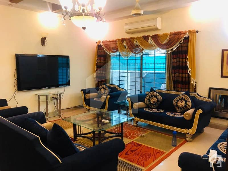 Furnish House 1 Kanal For Rent Fully Basement In Phase 4