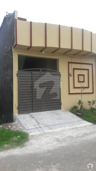 3 Marla Single Storey New House For Sale In SA Garden Phase 1 For Sale