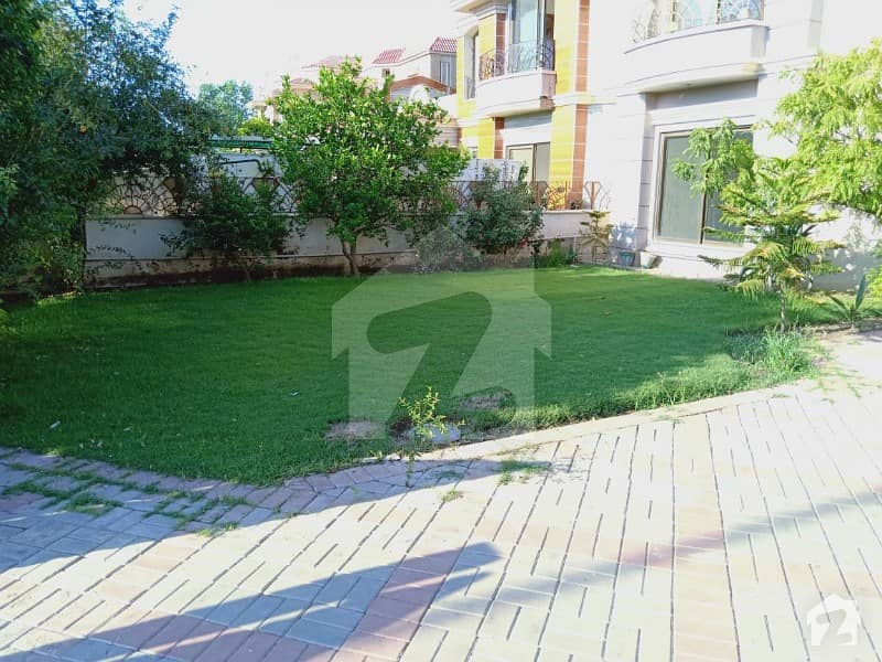 Facing Park 1 Kanal Villa Is Available For Sale