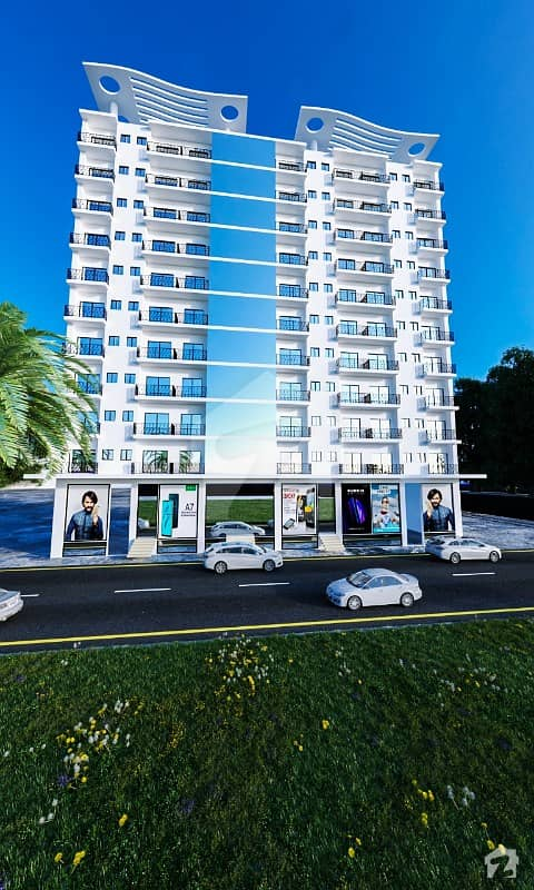Luxurious Apartment for sale on easy installments fully furnished in bahria town karachi
