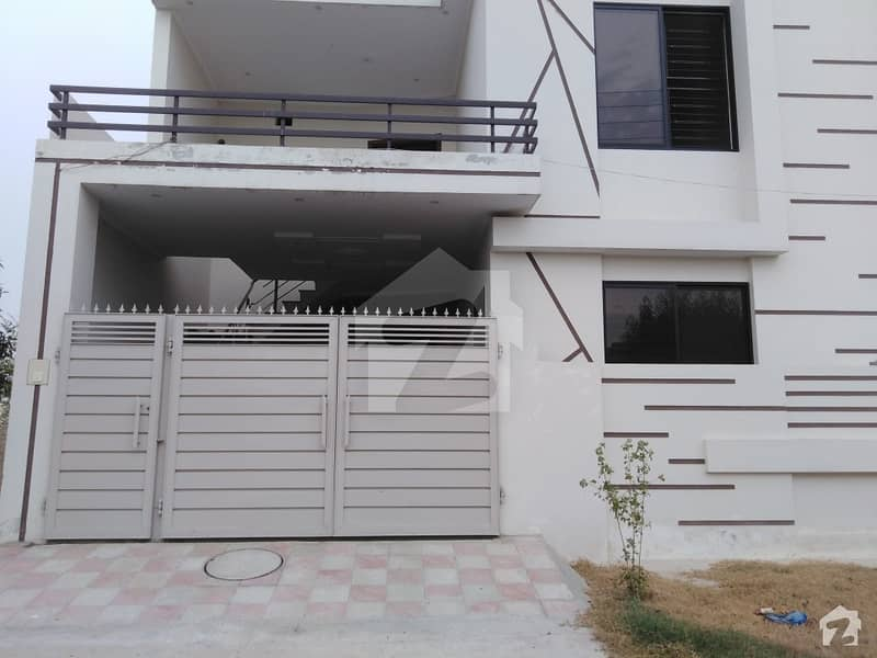 4 Marla Double Storey House For Sale Park Facing