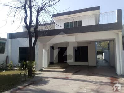 01 Kanal Self Constructed  Bungalow Alaudin Road Lahore Cantt