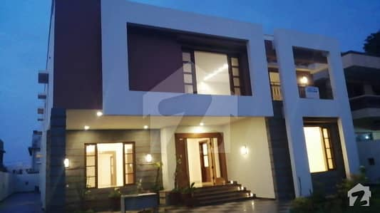 1000 Sq Yard Brand New Bungalow With Huge Basement Is Up For Sale In DHA Phase VI KhayabaneMuhafiz