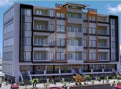 1 Bed Fully Furnished Apartment For Sale In Main Commercial Hub Of Bahria Town Phase 7