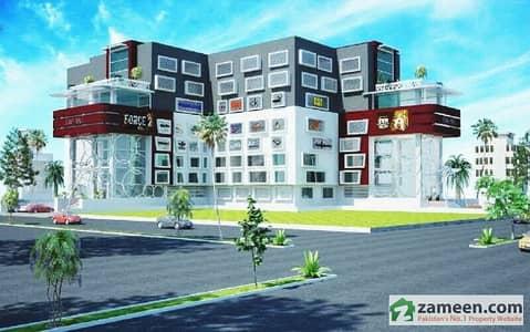 کیپٹل آئکن مال گرلز کالج روڈ ساہیوال میں 1 مرلہ دفتر برائے فروخت۔