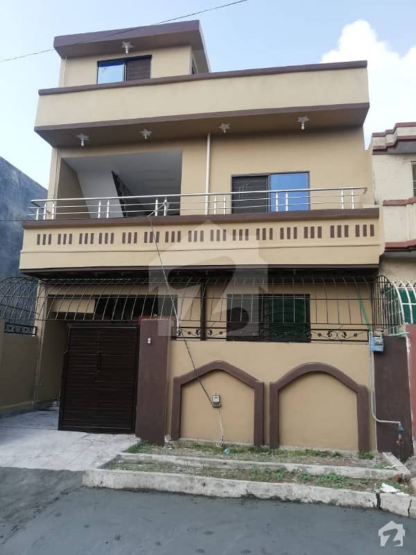 Beautiful Lush 5 Marla Double Storey House For Sale In Airport Housing Society  Rawalpindi
