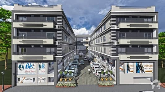 Shop For Sale In Park View Mall  Apartments