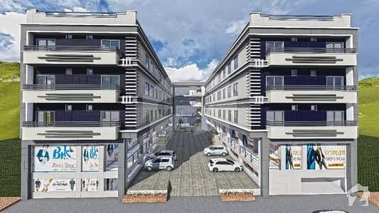 Shop With Apartment For Sale On Installments