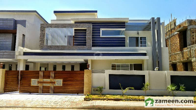 Straight Elevation Stylish 1 Kanal House In Bahria Town