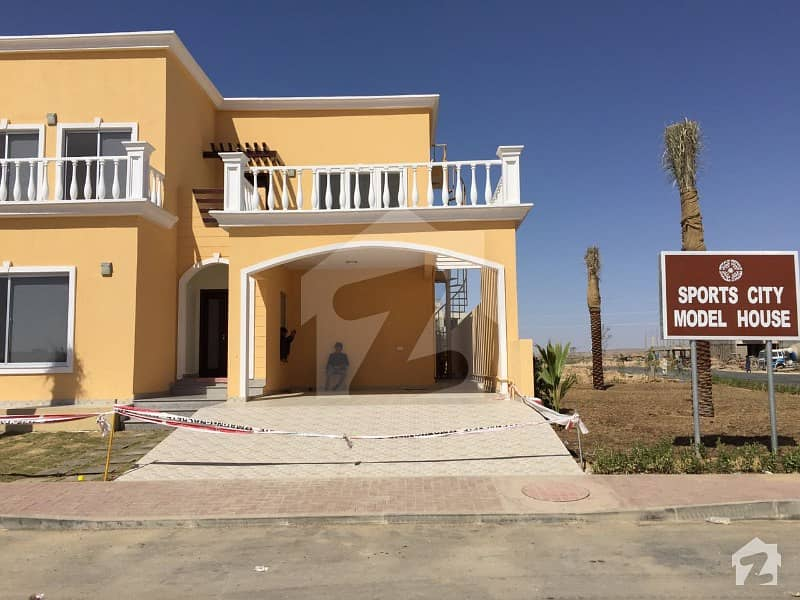 350 Sq Yd Sports City Villa Is For Sale Near Jinnah And Park In Bahria Town