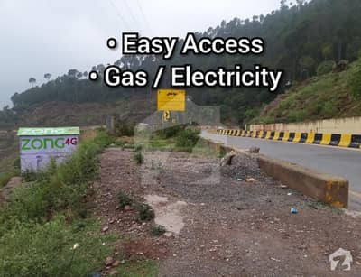 1 Kanal Commercial Plot For Sale On Murree Expressway